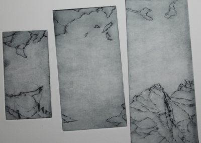 R 469 | Eisland | Triptychon | 2008 | 238x97 | 197x94 | 143x67