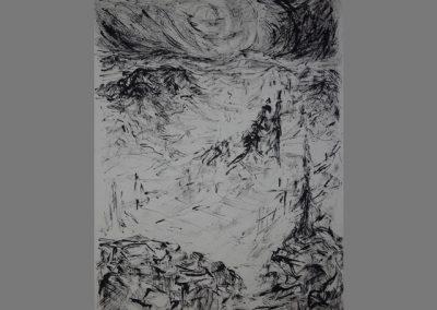 Z 617 | Bewegte Landschaft | Rohrfeder | 1998 | 694x532