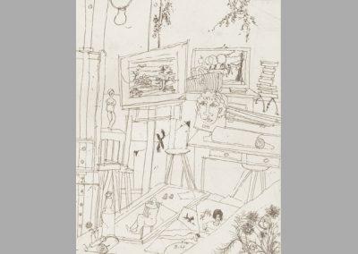 R 19 | Atelier III | Ätzradierung | 1962 | 154x118