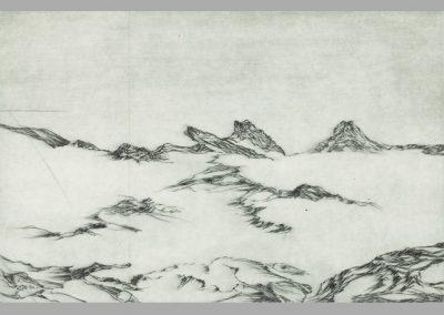 R 476 | Gebirgsfläche | Kaltnadel | 2009 | 198x298